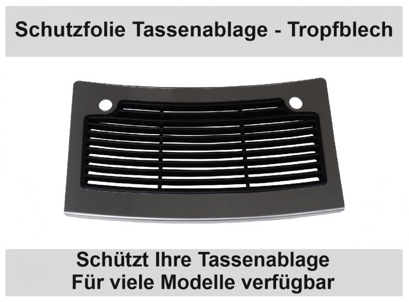 5 x Schutzfolie für Jura Abtropfblech Tassenablage Tassenplattform Z9 Z7 Z5